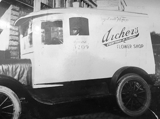 Archer's First Delivery Truck